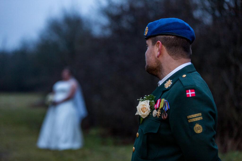 Bryllupsfotograf Verninge kirke Sara & Jesper