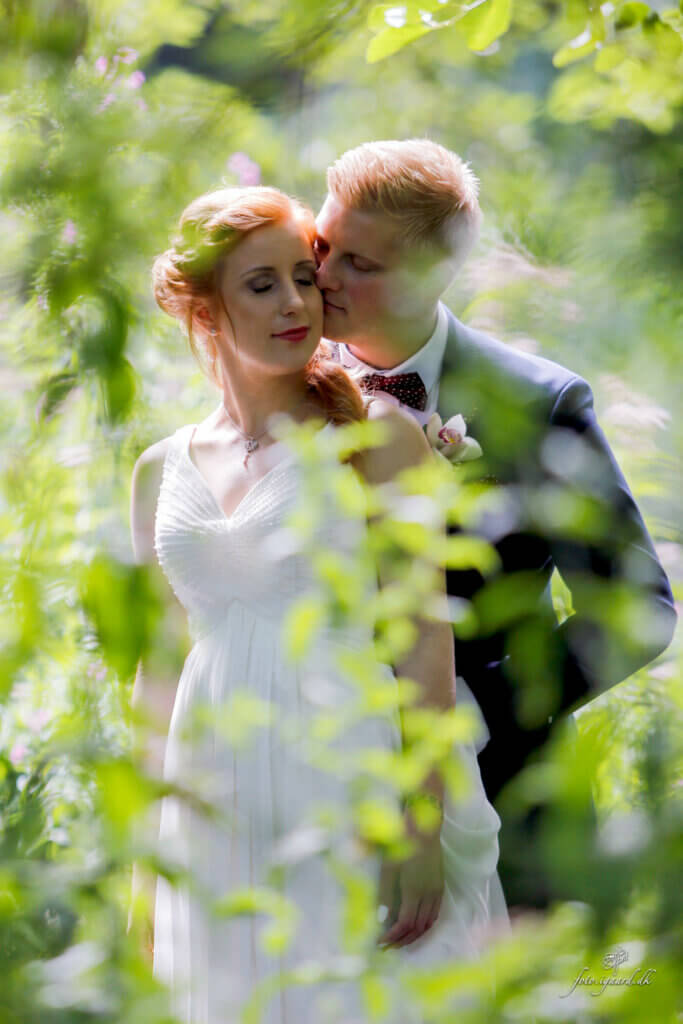 Bryllupsfotograf til bryllup i Assens