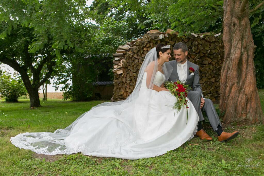 Bryllupsfotograf til bryllup i Bellinge på Fyn