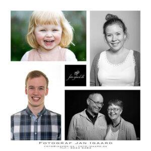 Portræt fotograf Fyn, erhvervs fotograf, børnefotograf