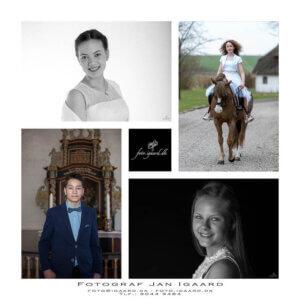 Konfirmand portræt - konfirmand fotografering